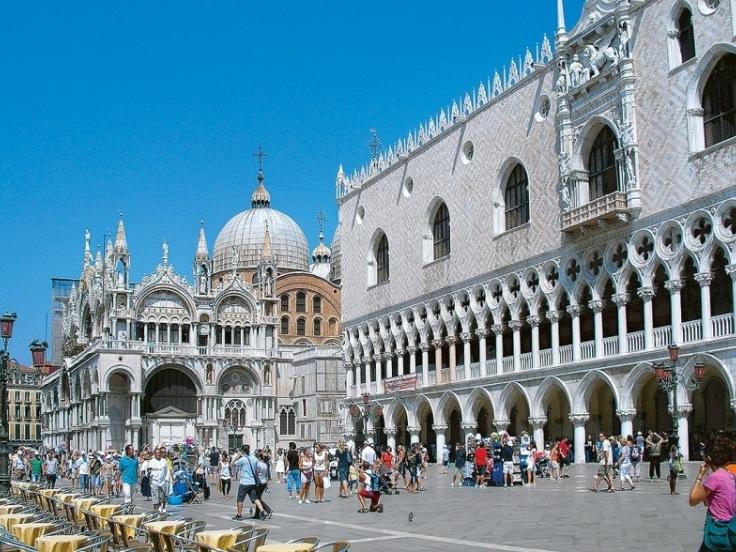 Benátky, Florencie, Řím