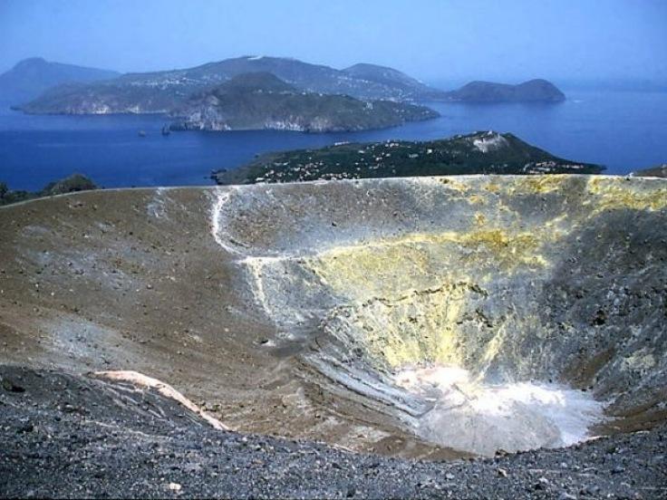 Liparské ostrovy - letecky