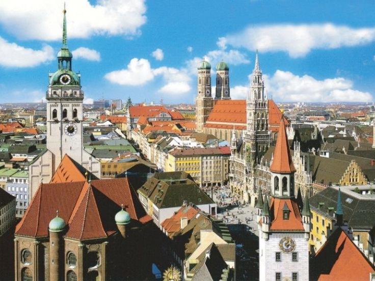 Mnichov - pohled