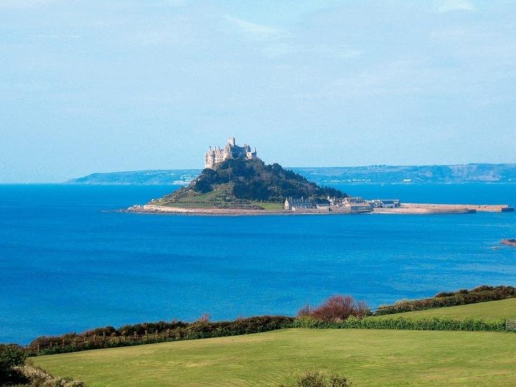 Cornwall - letecky