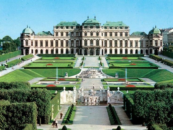 Vídeň a zámek Schonbrunn