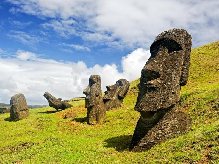 Chile - Velikonoční ostrov