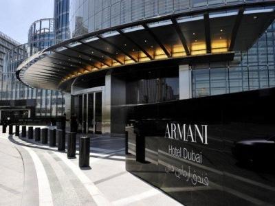Spojené Arabské Emiráty - Dubaj - Město - Armani Hotel Dubai