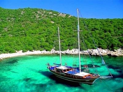 Modrá plavba Tureckou riviérou