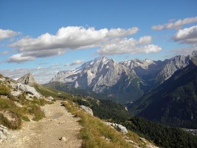 Třpytivé stříbrné Dolomity - bez nočních přejezdů