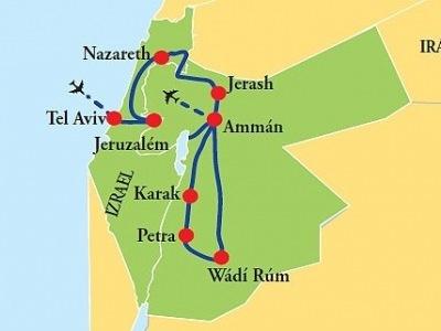 Izrael - Jordánsko