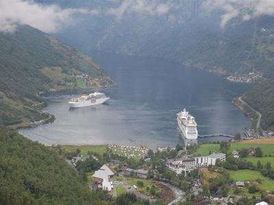 Nejkrásnější místa Norska