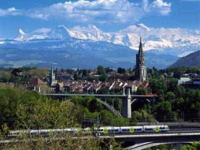 To nejlepší ze Švýcarska letecky a vlakem