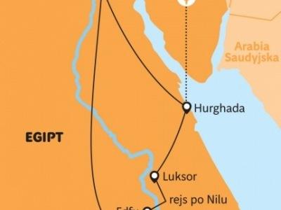 Egypt - podél Nilu