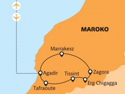 Maroko - pouštní offroad