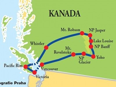 Od divokého Pacifiku do Rockies