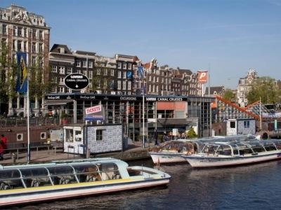 Jarní Holandsko letadlem a vlakem
