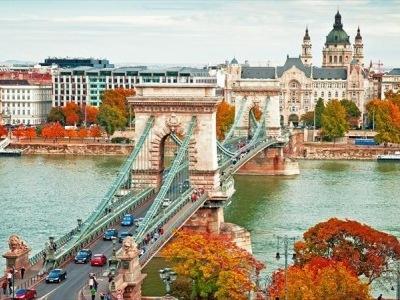 Budapešť s termálními lázněmi