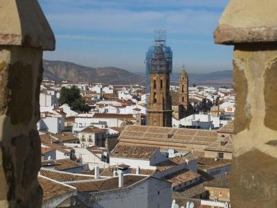 Krásy Andalusie - letecky