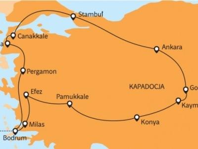 Egejské Turecko - sultánské rarity