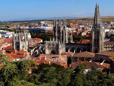 Svatojakubská cesta, Burgos, Ávila