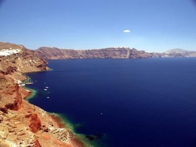Kykladské ostrovy Paros a Santorini