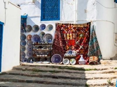 Tunisko - pestrobarevná mozaika