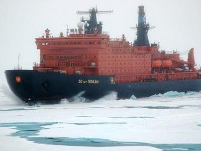 Ledoborcem na Severní pól