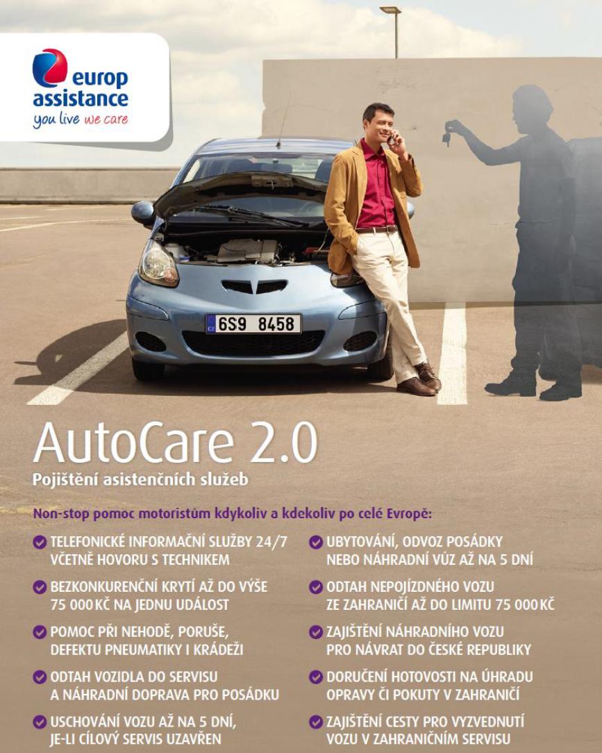 ojištní AutoCare 2.0